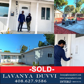 My first time home buyers Krishna and Anusha