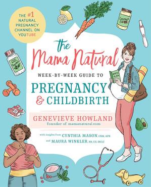Mama Natural Pregnancy Book