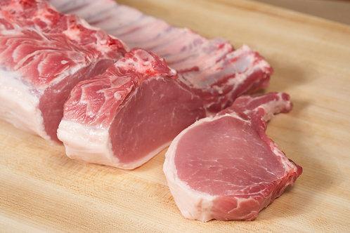 Berkshire Pork Rib Chops(2 chops/1-1.25 lbs ave.)