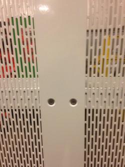 Custom Perforated Aluminum Fence
