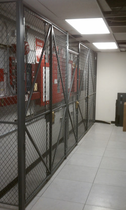 Wire Mesh Equipment Security Fence
