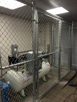 Chainlink Equipment Enclosure