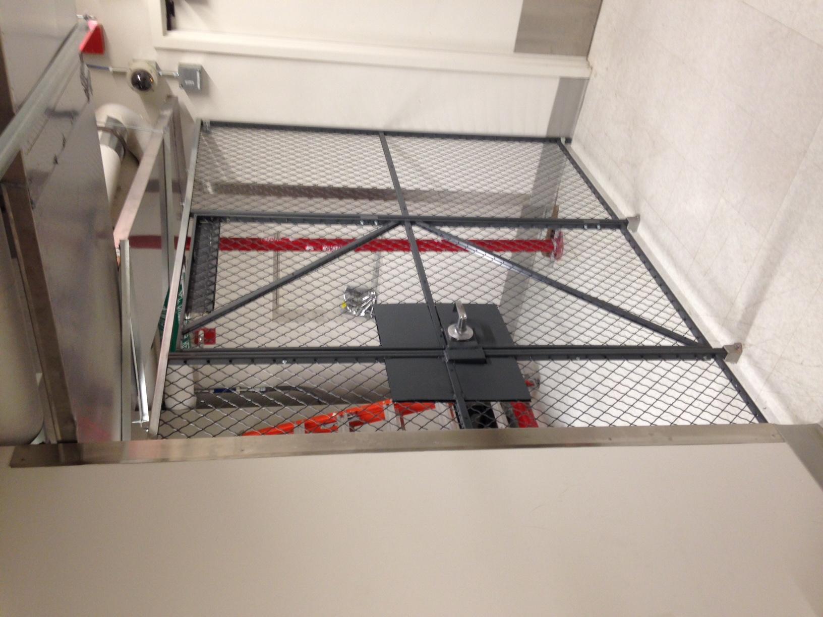 Wire Mesh Security Enclosure