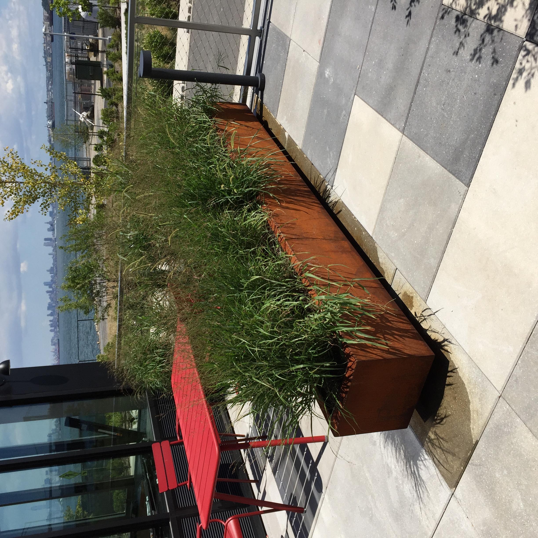 Corten Steel Landscape Planter