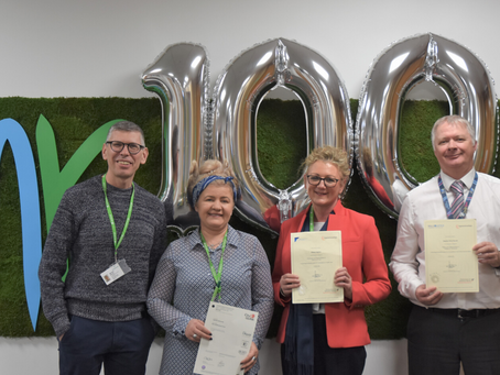 Celebrating our 100th Apprentice