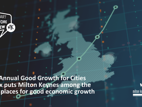 Milton Keynes is among the best places in the country for good, well paid and secure jobs for local