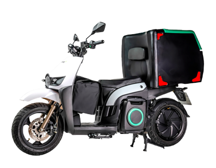 Silence S02 Low Speed Long Range e-moto scooter in the UK