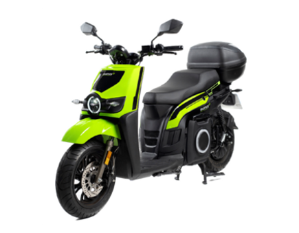 Silence S02 Low Speed e-moto scooter in the UK
