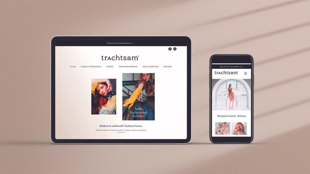 Webseite trAchtsam 2020