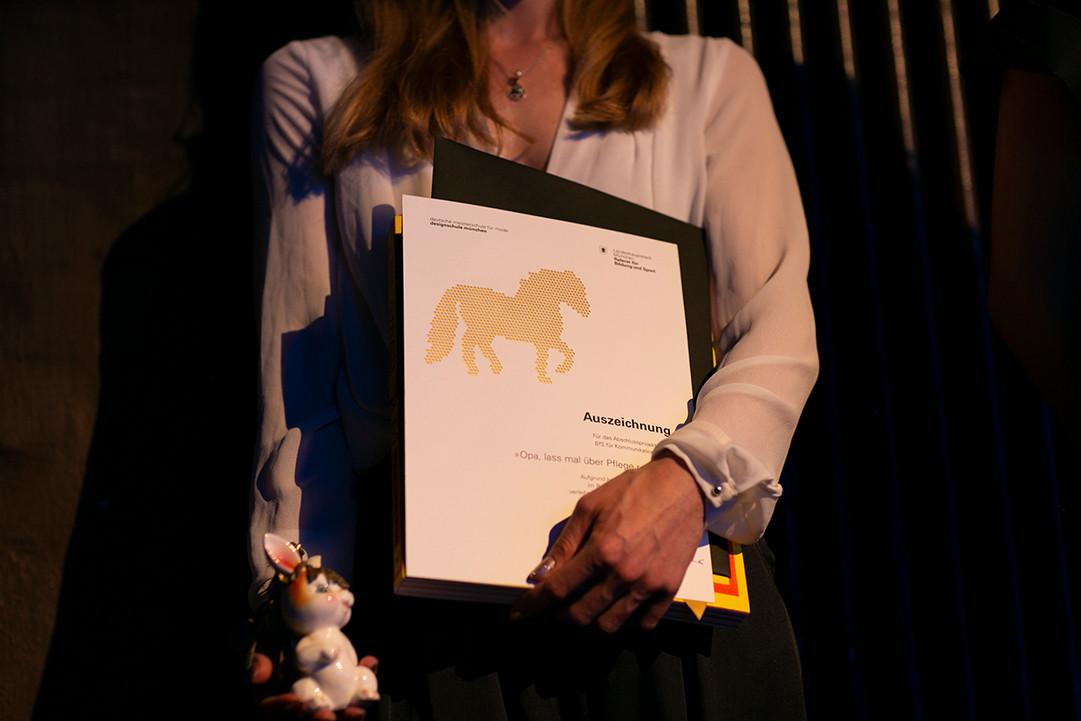 Preis, goldenes Pony 2019