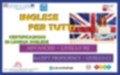 Certificazione di lingua inglese B2 e C1