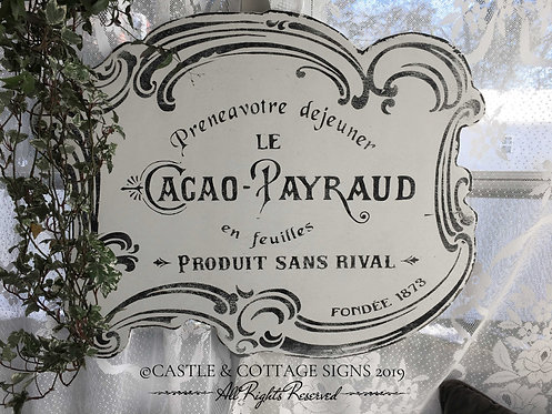 LE CACAO - PAYRAUD