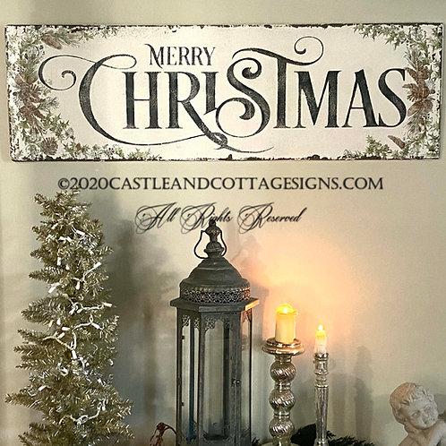 Woodland Merry Christmas ~   No. 1