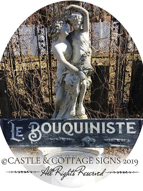 LE BOUQUINISTE ~ The Bookstaller