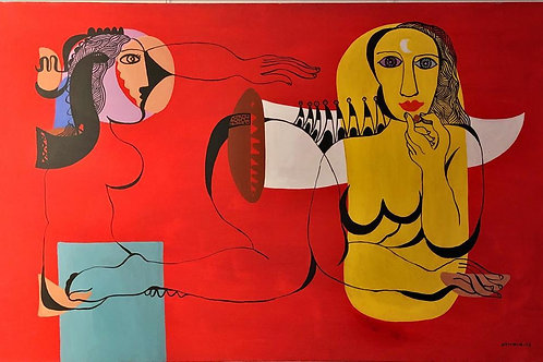 Ali Atmaca - Figürlü Kompozisyon