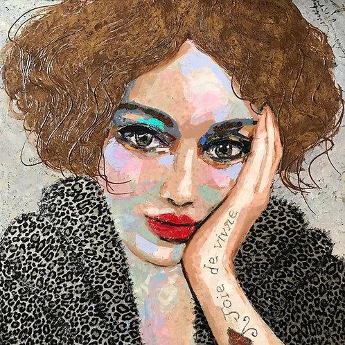 Zerrin Tekindor - Portrait of Blanche DuBois
