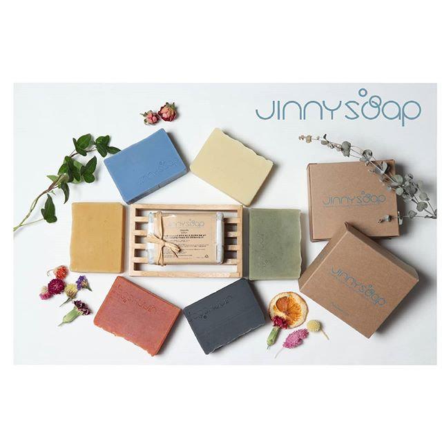 Jinnysoap collections 🌱 자연성분의 원료와 에센셜오일