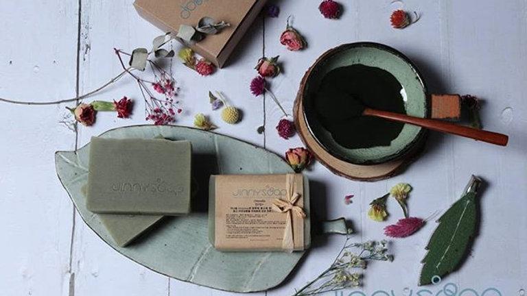 클로렐라 카밍 비누 Chlorella calming soap