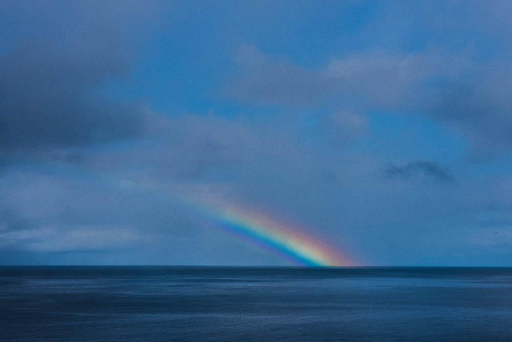 arc en ciel aux iles Lofoten