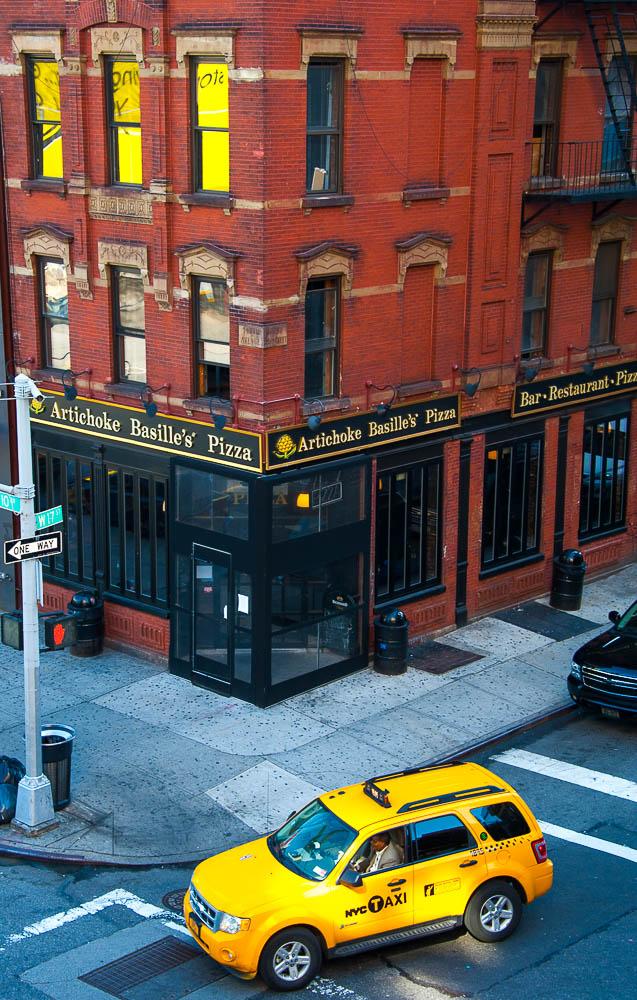 taxi jaune - New York