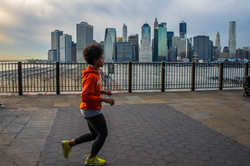 jogging à Brooklyn