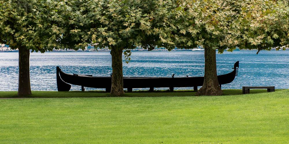 au bord du lac de Come
