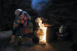 marocaine au feu