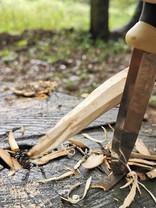 枝を動かす削り方