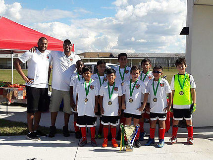 U11 Central Florida Premier Soccer League Champions - Fall 2017