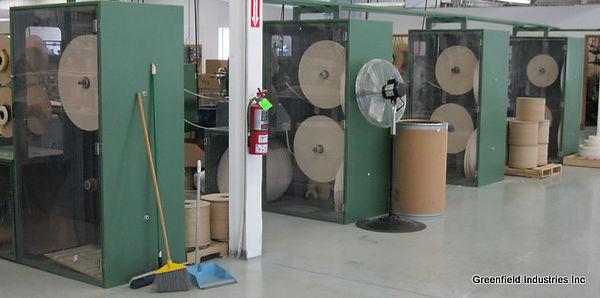 Fabricated machine cabinets