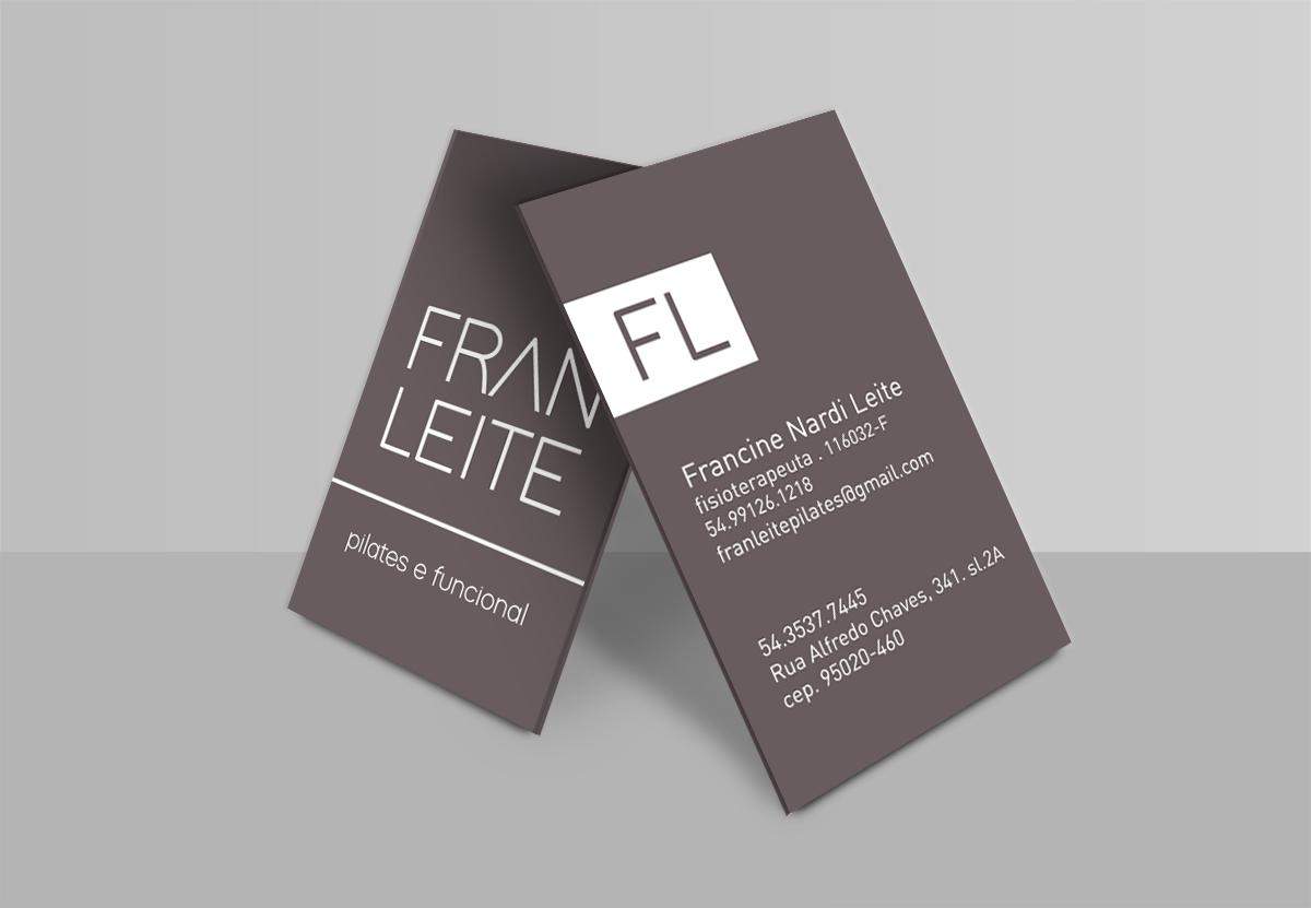 Cartão de Visita Fran Leite