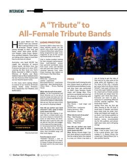 Interview - Tribute Band Judas Priestess