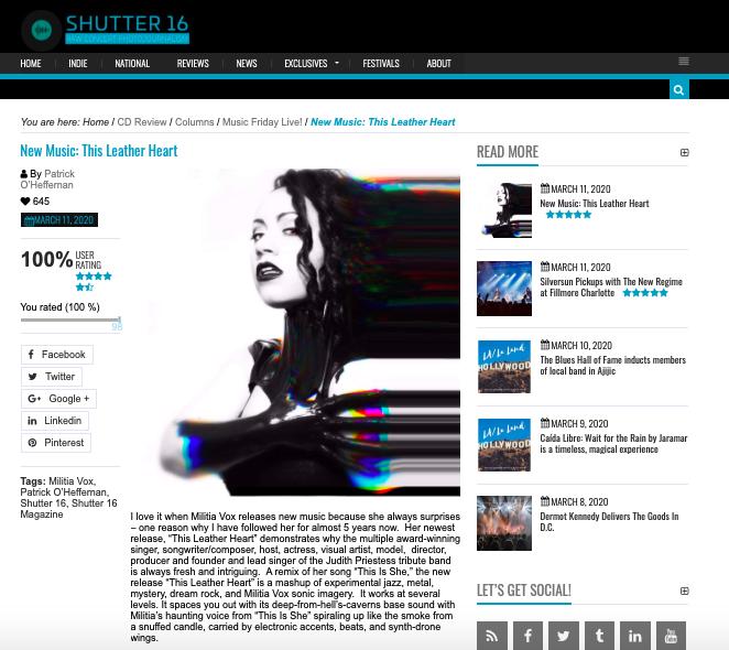 Shutter 16 review
