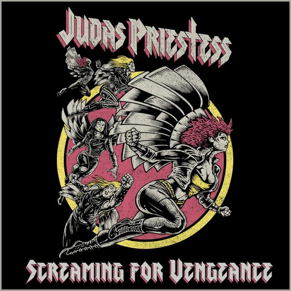 JUDAS PRIESTESS S4V single cover