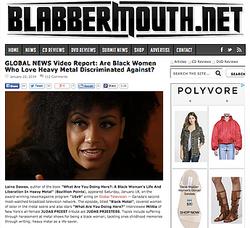 Blabbermouth- Black women in metal