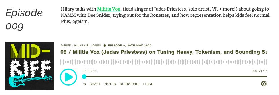 MidRiff Podcast w Militia Vox