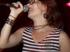 Alison Wolfe [Bratmobile] performing at Mia Zapata vigil
