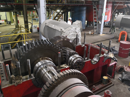 Repotenciación de reductor del tren de molinos de ingenio azucarero