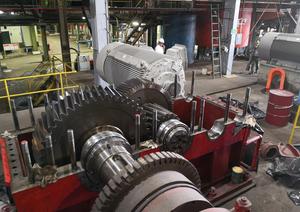 Repotenciación de reductor del tren de molinos del ingenio Madre Tierra