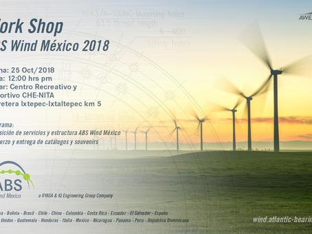 Primer Taller Oaxaca ABS Wind México 2018
