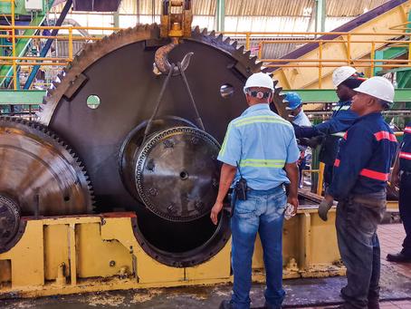 Reparación de reductores Philadelphia 700 Hp en Ingenio Colón Republica Dominicana