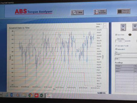 Nuevo Servicio de ingeniería de medición de torque en tiempo real