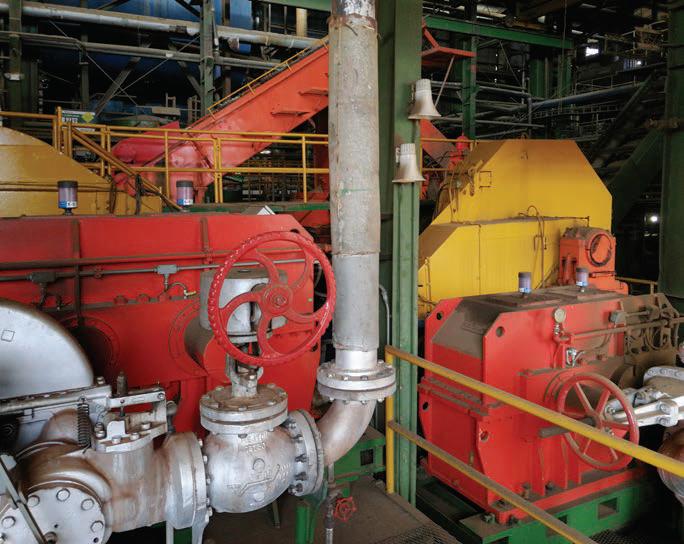 Accionamiento mecánico de molino azucarero