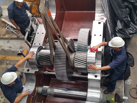 Modificación de un reductor de torque dividido