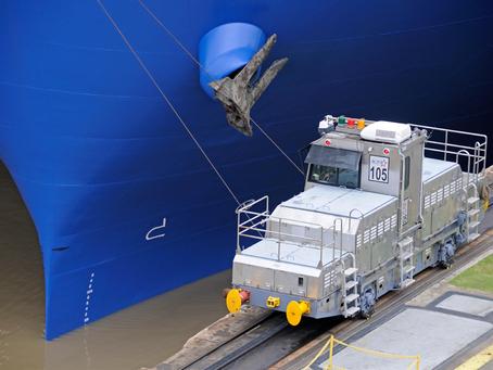 Rodamientos ACB.USA trabajando en el Canal de Panamá
