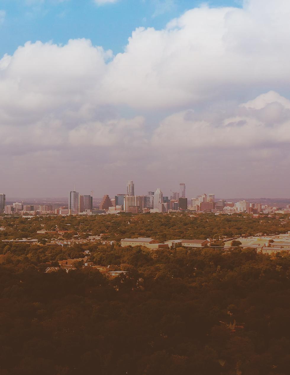 Skyline of Austin Texas