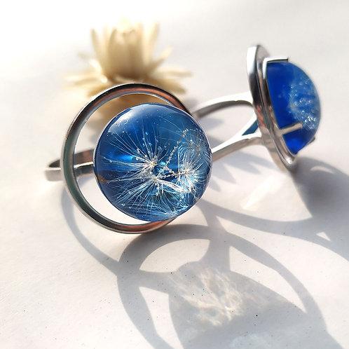 "Кольцо из серебра ""Океан"" , арт. 41-0200-26"
