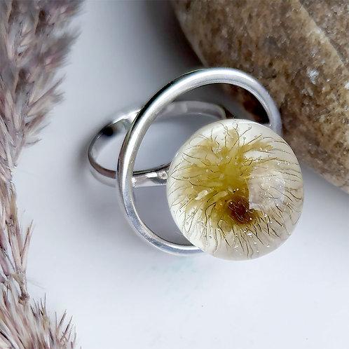 Серебряное кольцо с чудо-колючкой, арт. 21-0200-23