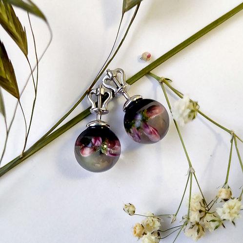 Пуссеты с розовым вереском, арт. 12-1000-29*