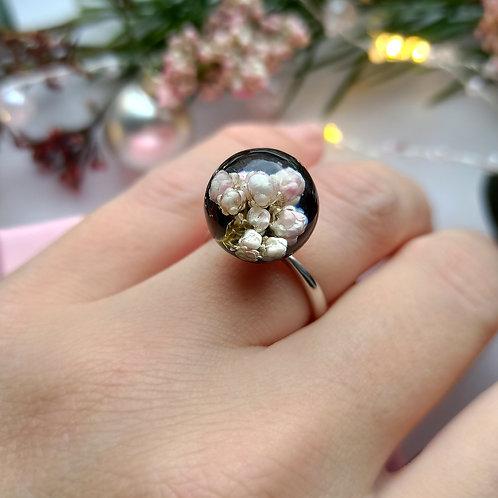 Серебряное кольцо с озотамнусом